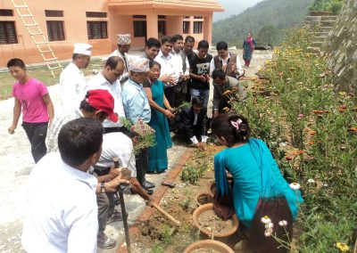 chief-district-officer-of-khotang-in-wed-tree-plantation-ceremony